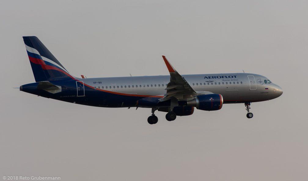 Aeroflot_A320_VP-BII_ZRH180708