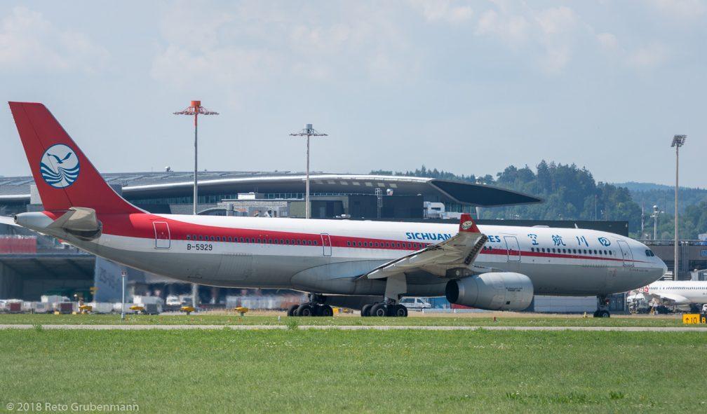 SichuanAirlines_A333_ZRH180714