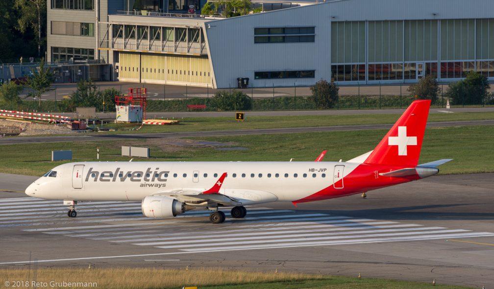 HelveticAirways_E190_HB-JVP_ZRH180716_01