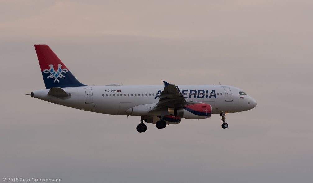 AirSERBIA_A319_YU-APB_ZRH180721