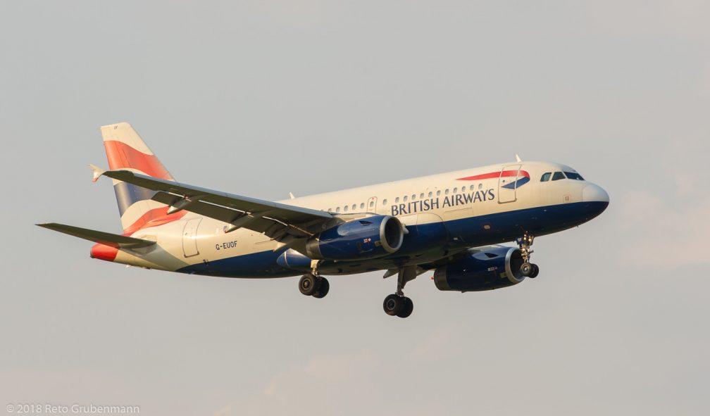 BritishAirways_A319_G-EUOF_ZRH180805