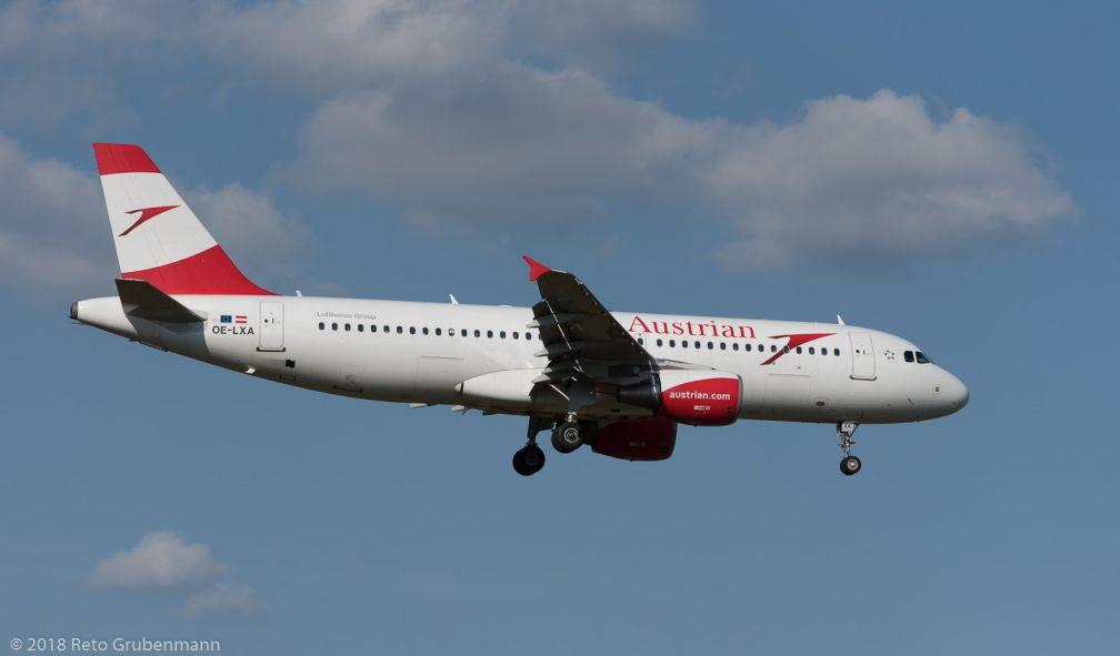 AustrianAirlines_A320_OE-LXA_ZRH180815