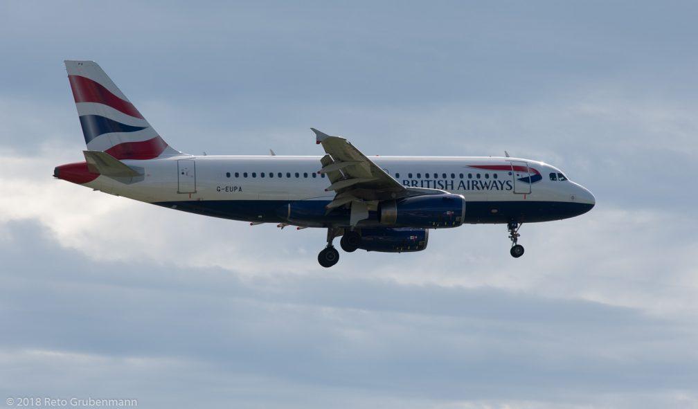 BritishAirways_A319_G-EUPA_ZRH180923