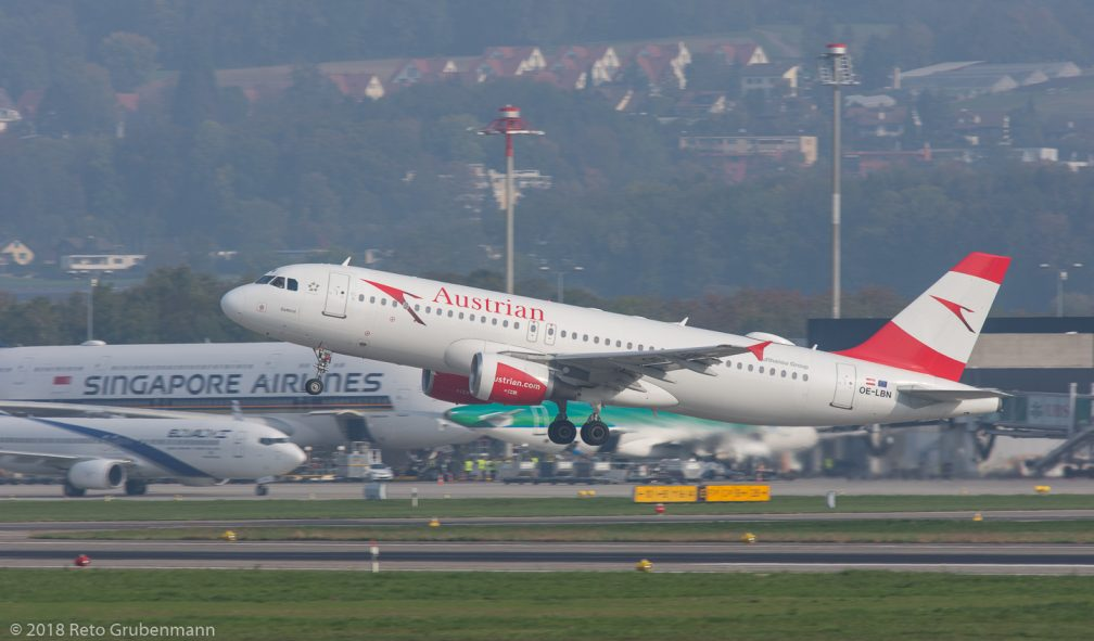AustrianAirlines_A320_OE-LBN_ZRH181018
