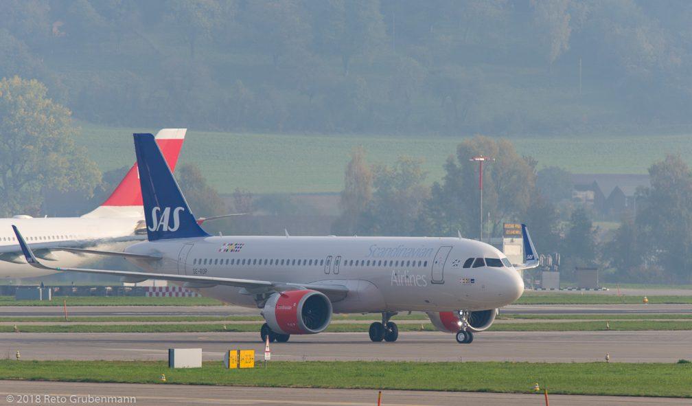 ScandinavianAirlines_A20N_SE-ROP_ZRH181018