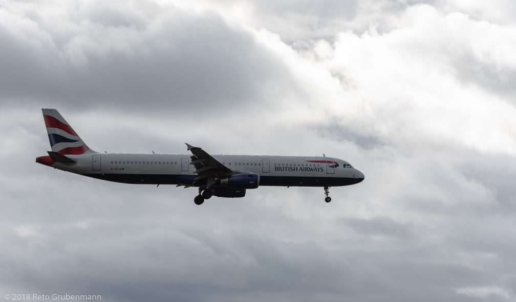 BritishAirways_A321_G-EUXM_ZRH181208