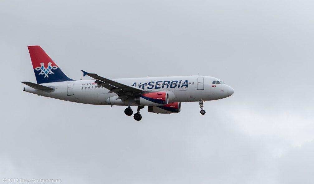 AirSERBIA_A319_YU-API_ZRH181209
